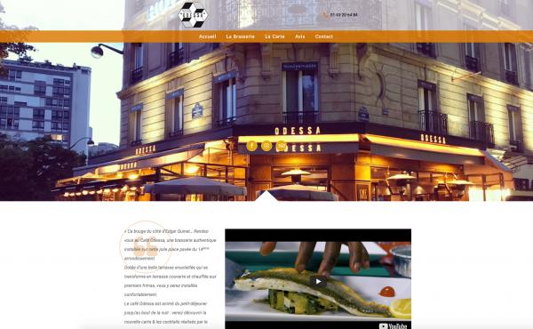 Site Internet Odessa Paris 14