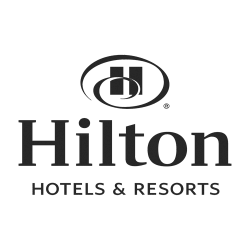 logo hilton hôtels resorts