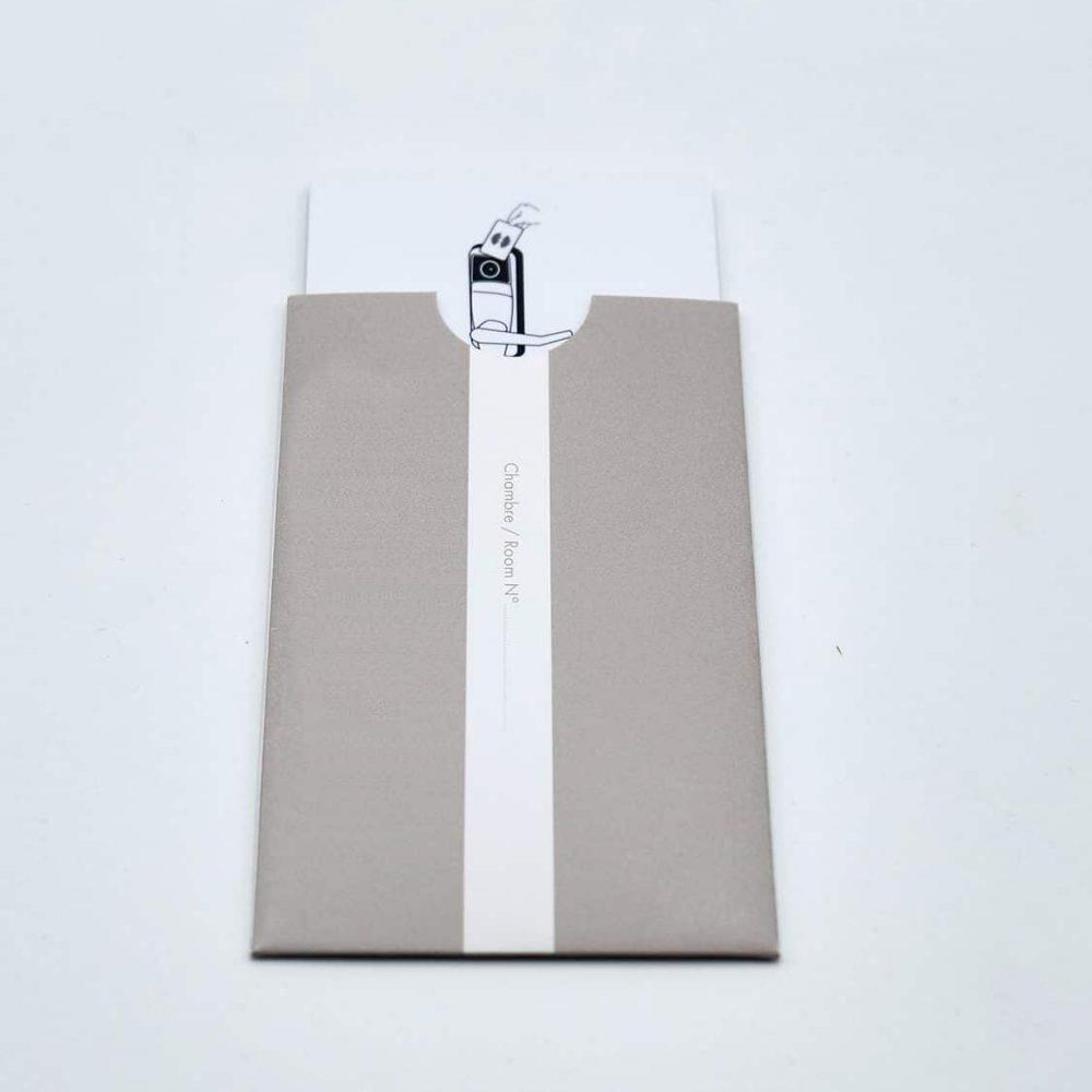 porte carte magnetique imprimés pour hôtels